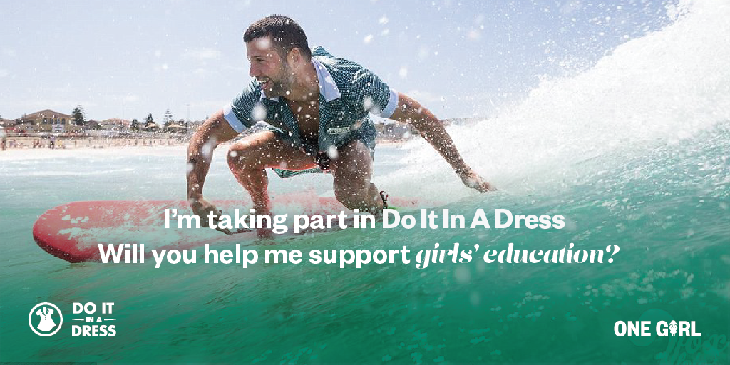 Support My Fundraiser! Twitter Option 4