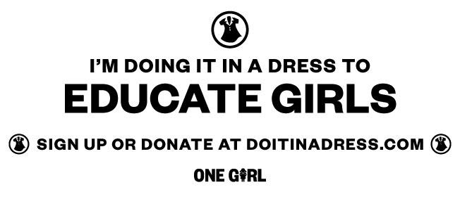 DIIAD dress bib (black & white)